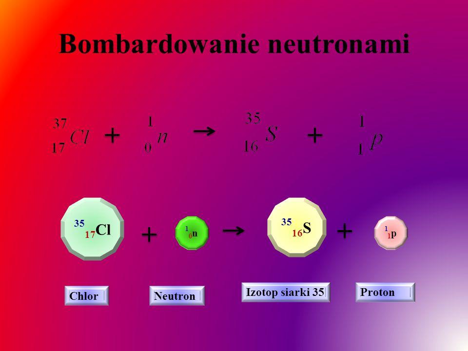Bombardowanie neutronami