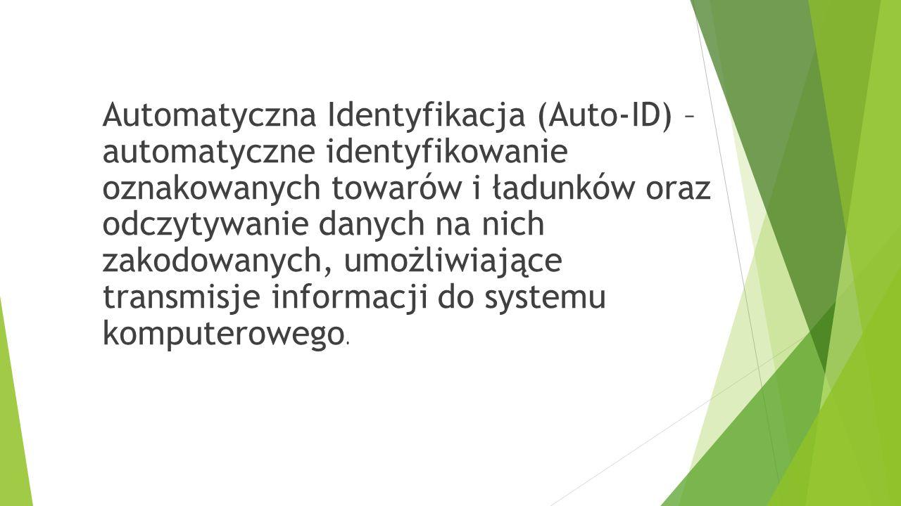 Automatyczna Identyfikacja (Auto-ID) – automatyczne identyfikowanie oznakowanych towarów i ładunków oraz odczytywanie danych na nich zakodowanych, umożliwiające transmisje informacji do systemu komputerowego.