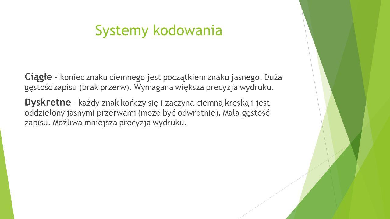 Systemy kodowania