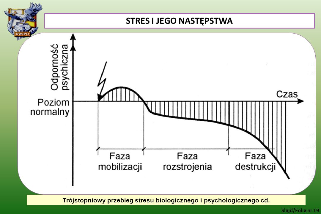 STRES I JEGO NASTĘPSTWA