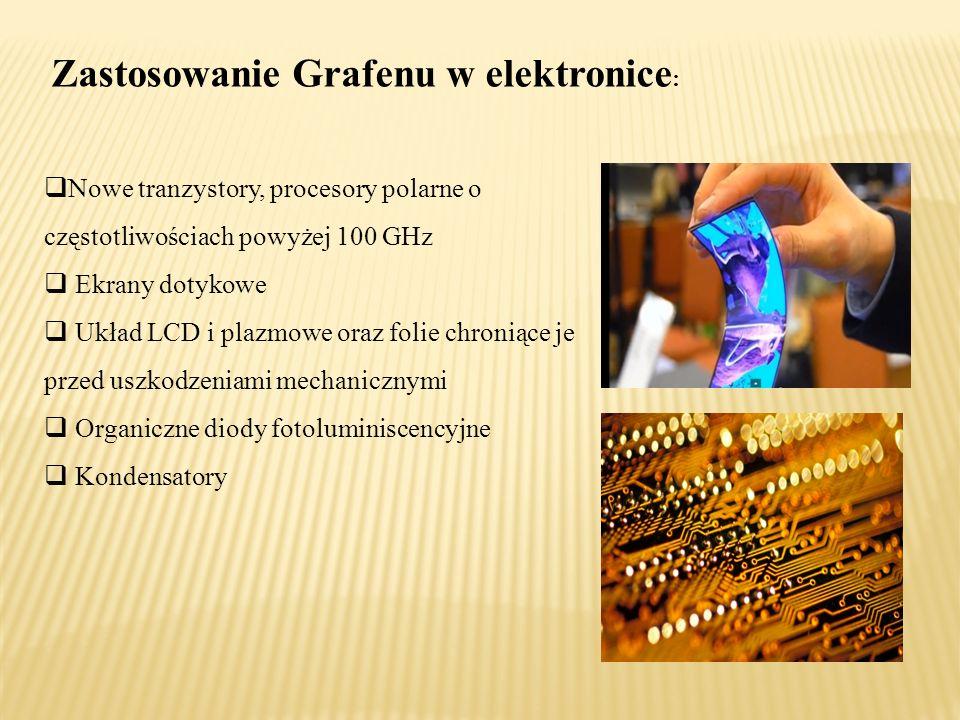 Zastosowanie Grafenu w elektronice: