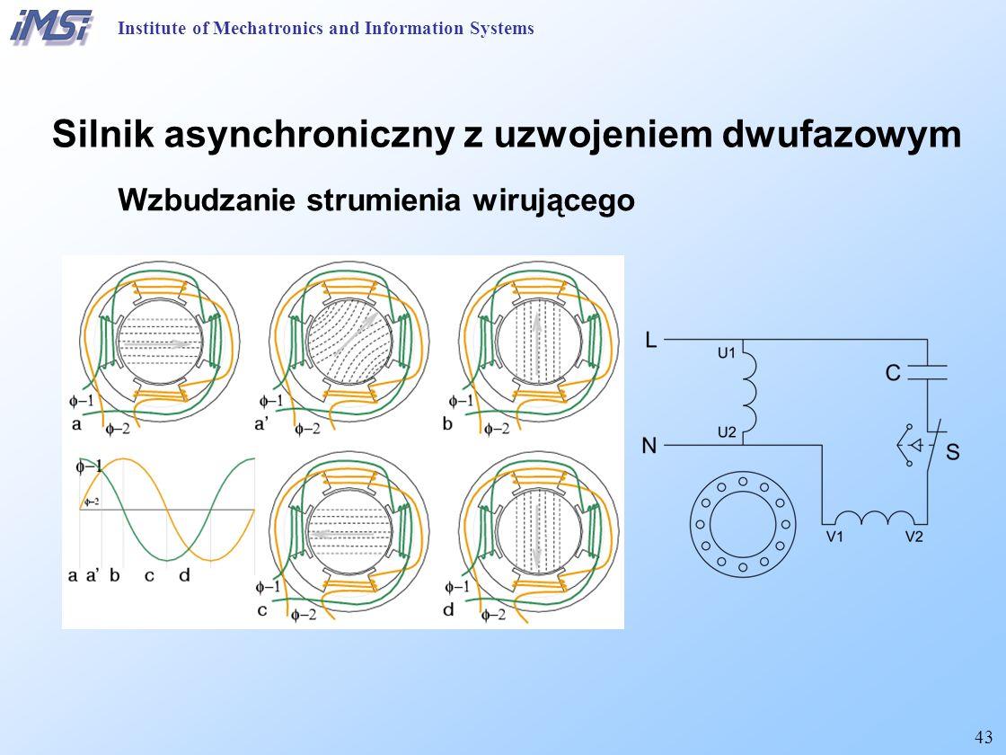 Silnik asynchroniczny z uzwojeniem dwufazowym
