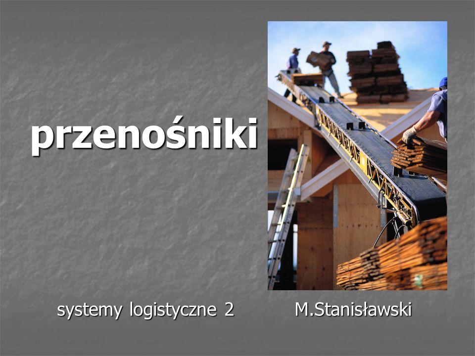 systemy logistyczne 2 M.Stanisławski