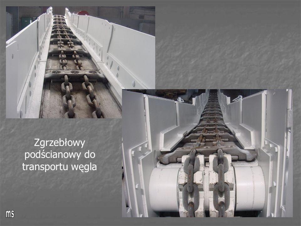 Zgrzebłowy podścianowy do transportu węgla