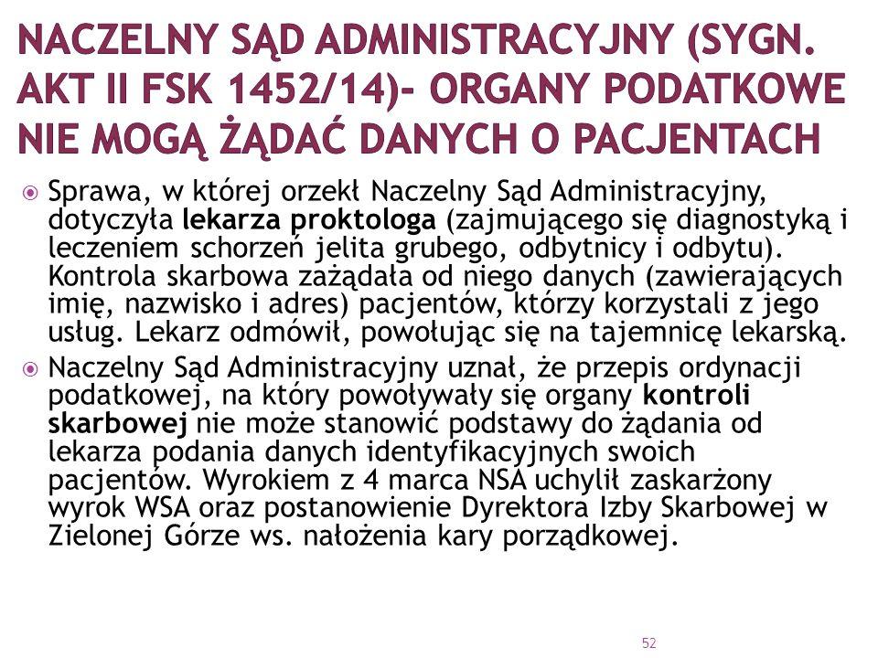 Naczelny Sąd Administracyjny (sygn