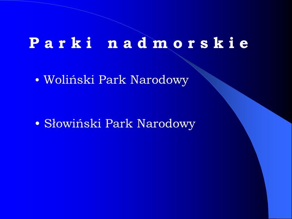 P a r k i n a d m o r s k i e Słowiński Park Narodowy