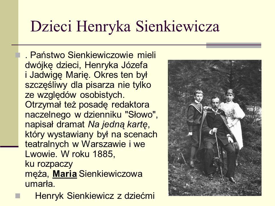 Dzieci Henryka Sienkiewicza