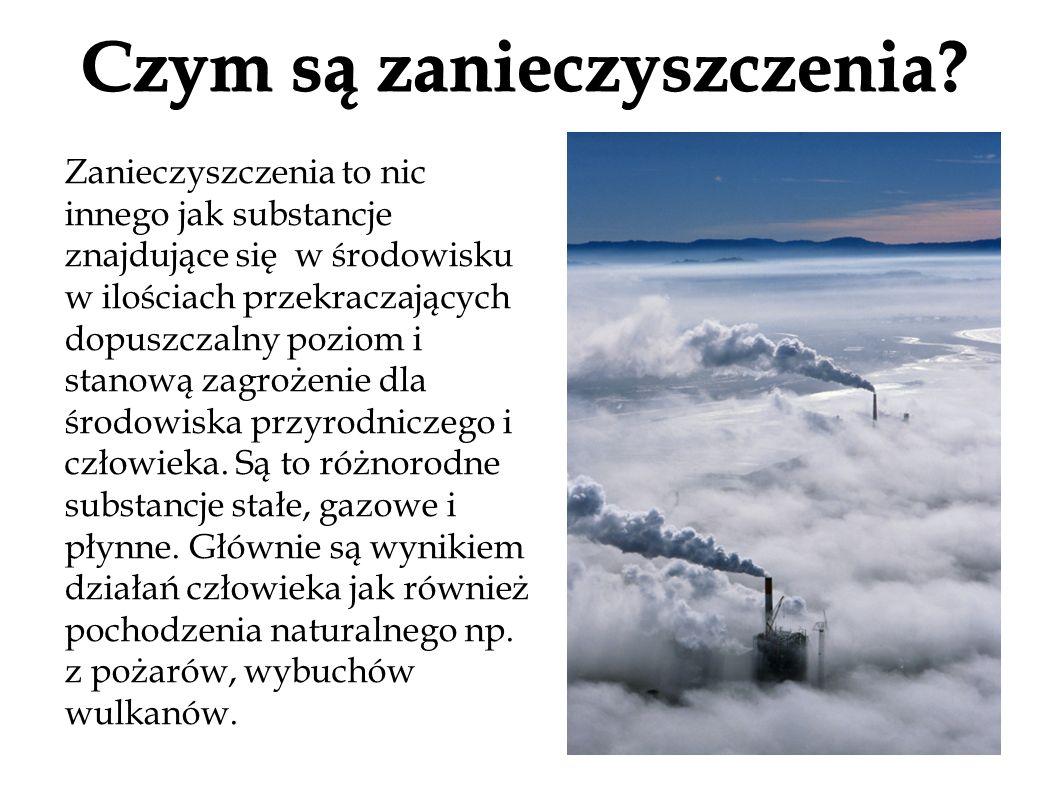 Czym są zanieczyszczenia
