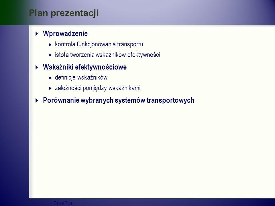 Plan prezentacji Wprowadzenie Wskaźniki efektywnościowe