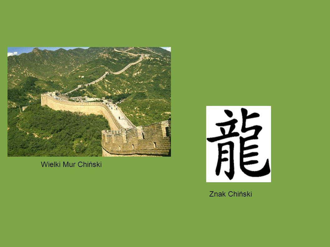 Wielki Mur Chiński Znak Chiński