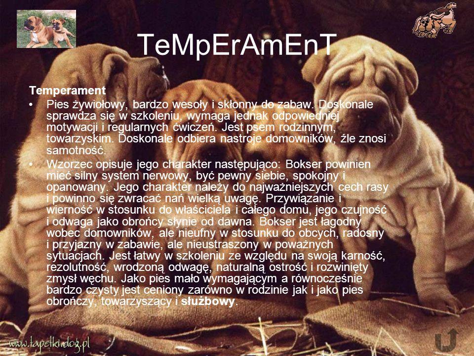TeMpErAmEnT Temperament