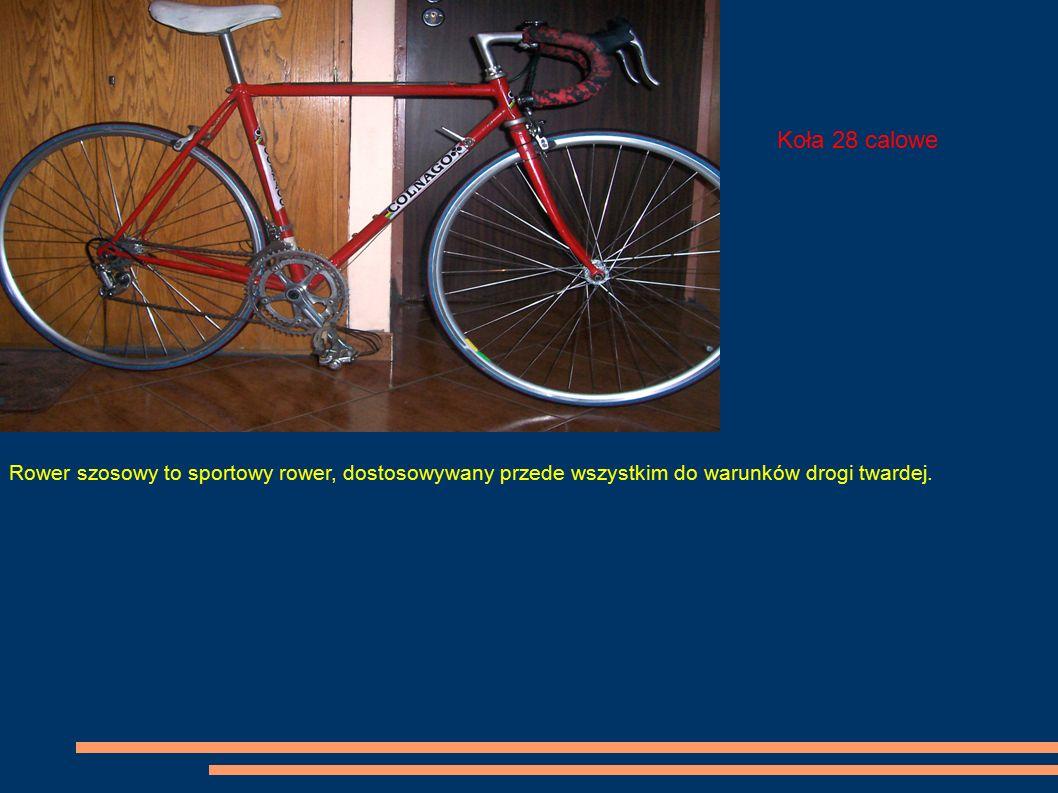 Koła 28 calowe Rower szosowy to sportowy rower, dostosowywany przede wszystkim do warunków drogi twardej.