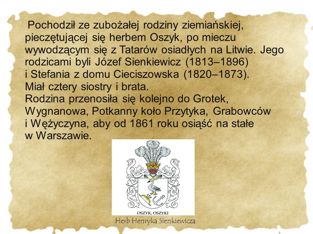 Herb Henryka Sienkiewicza