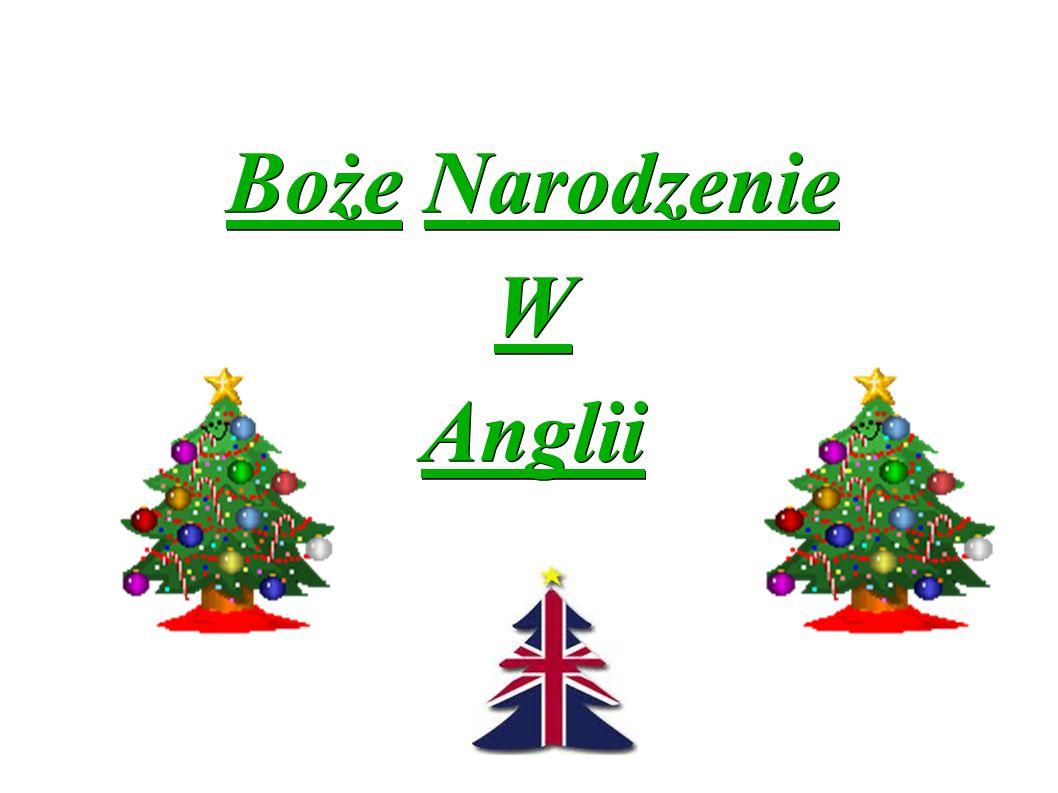 Boże Narodzenie W Anglii
