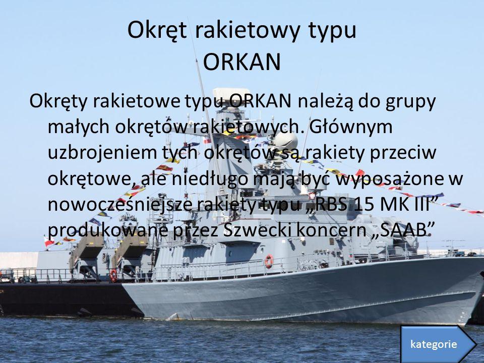 Okręt rakietowy typu ORKAN