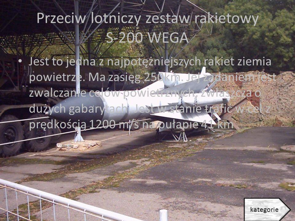 Przeciw lotniczy zestaw rakietowy S-200 WEGA
