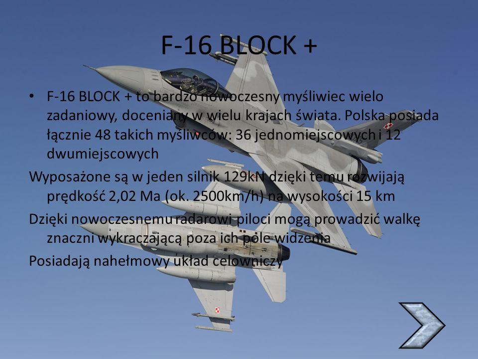 F-16 BLOCK +