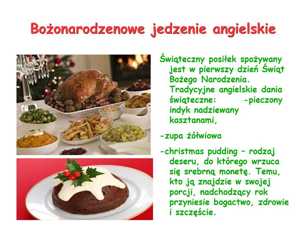 Bożonarodzenowe jedzenie angielskie