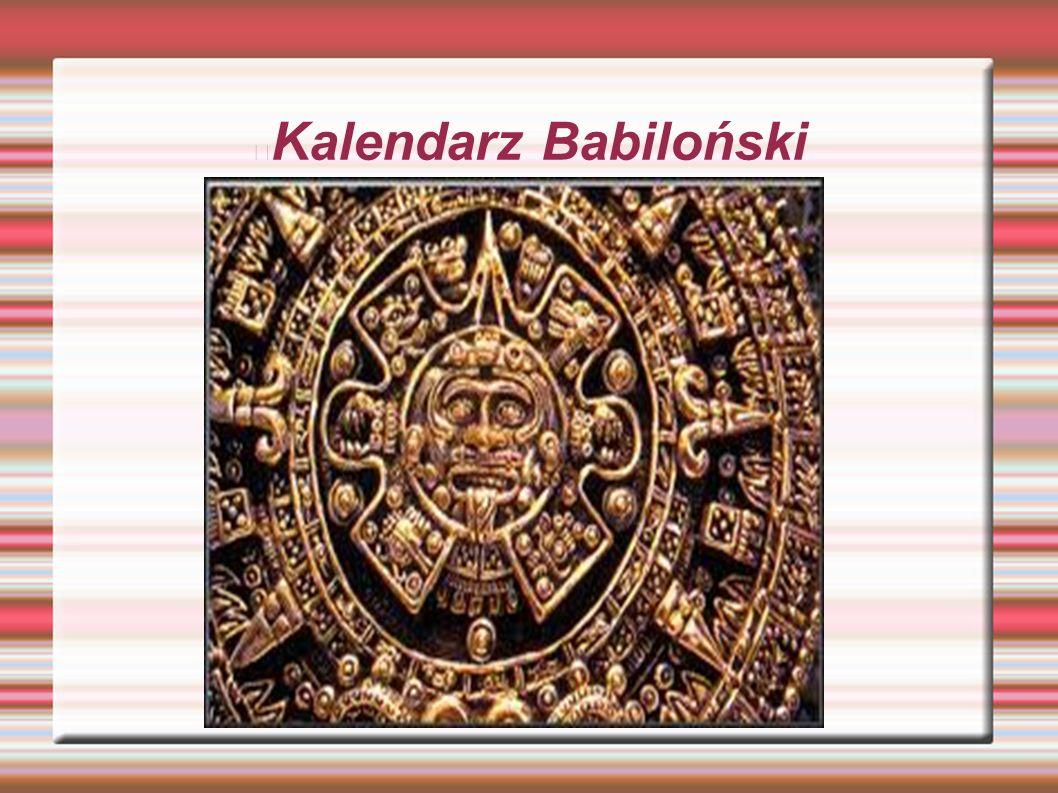 Kalendarz Babiloński