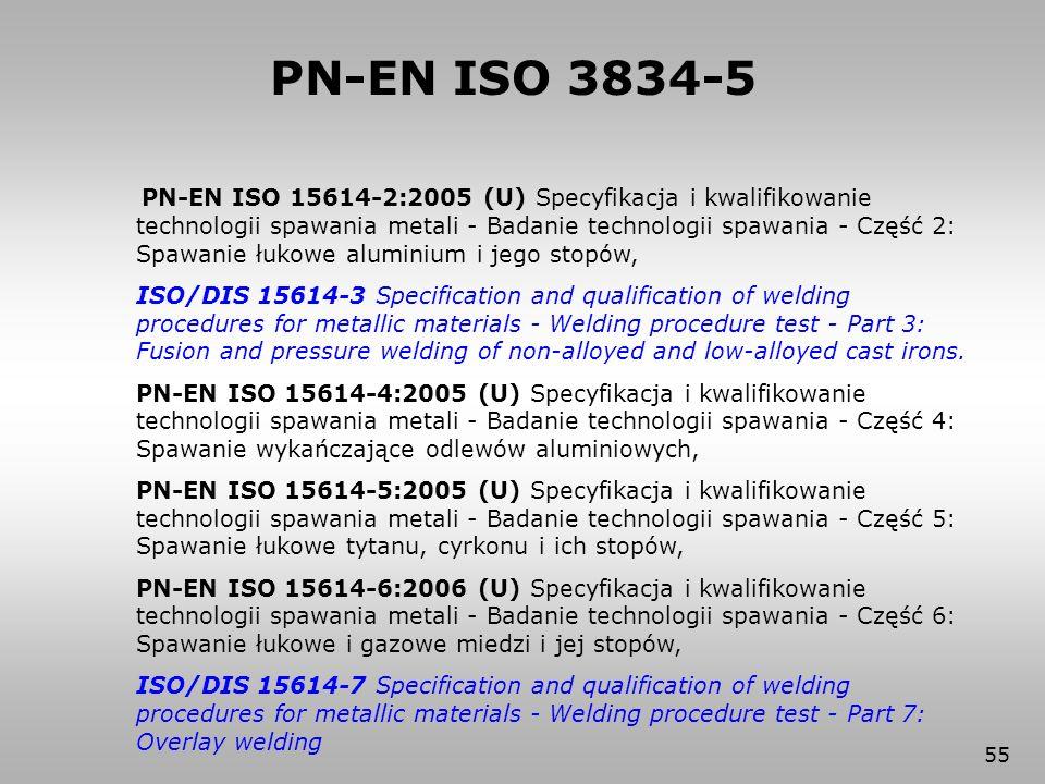 PN-EN ISO 3834-5