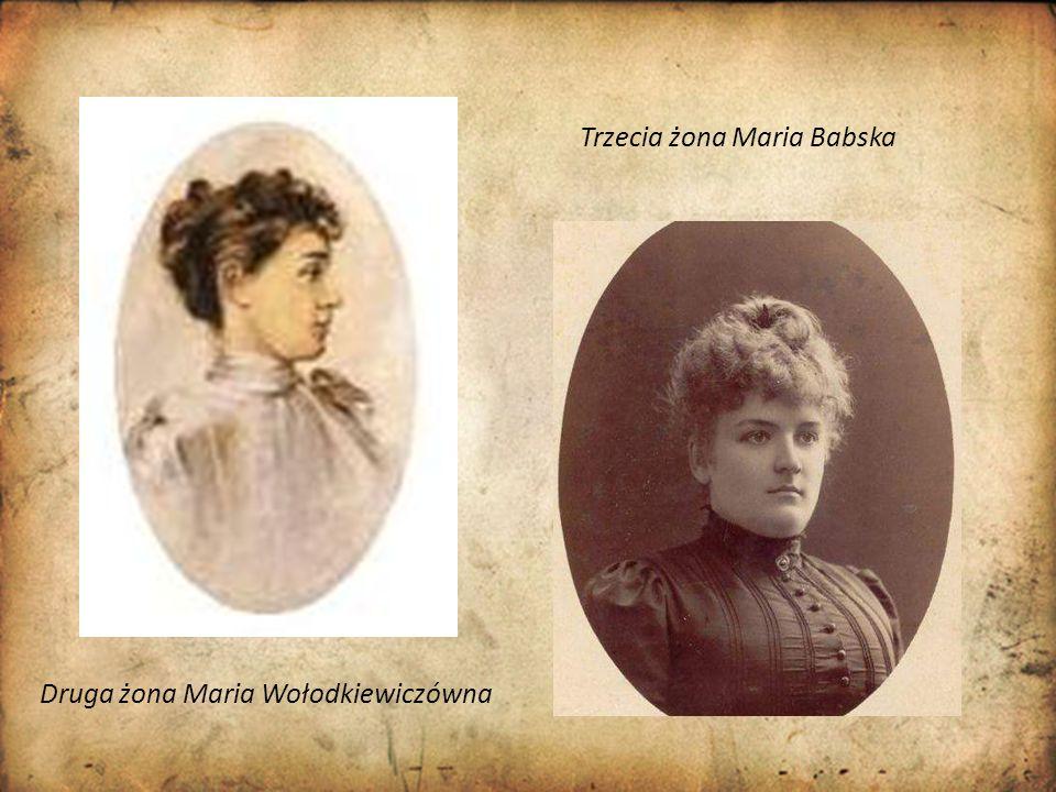 Trzecia żona Maria Babska