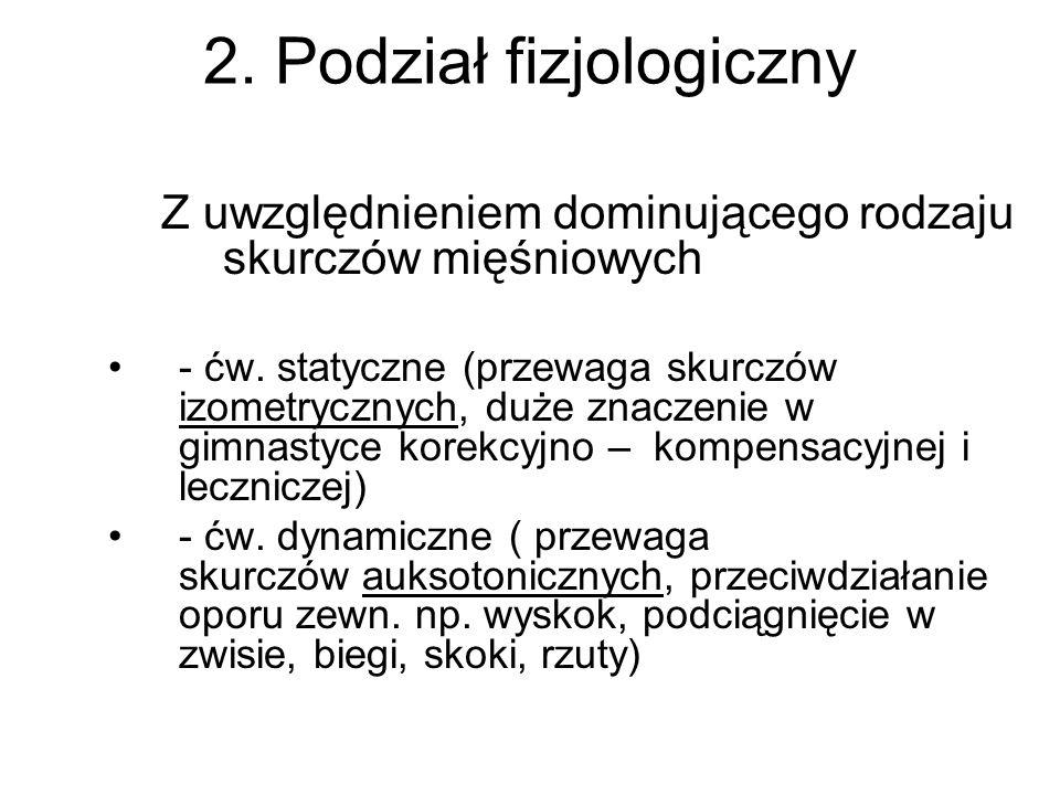 2. Podział fizjologiczny