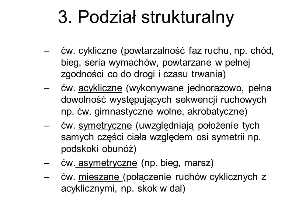 3. Podział strukturalny