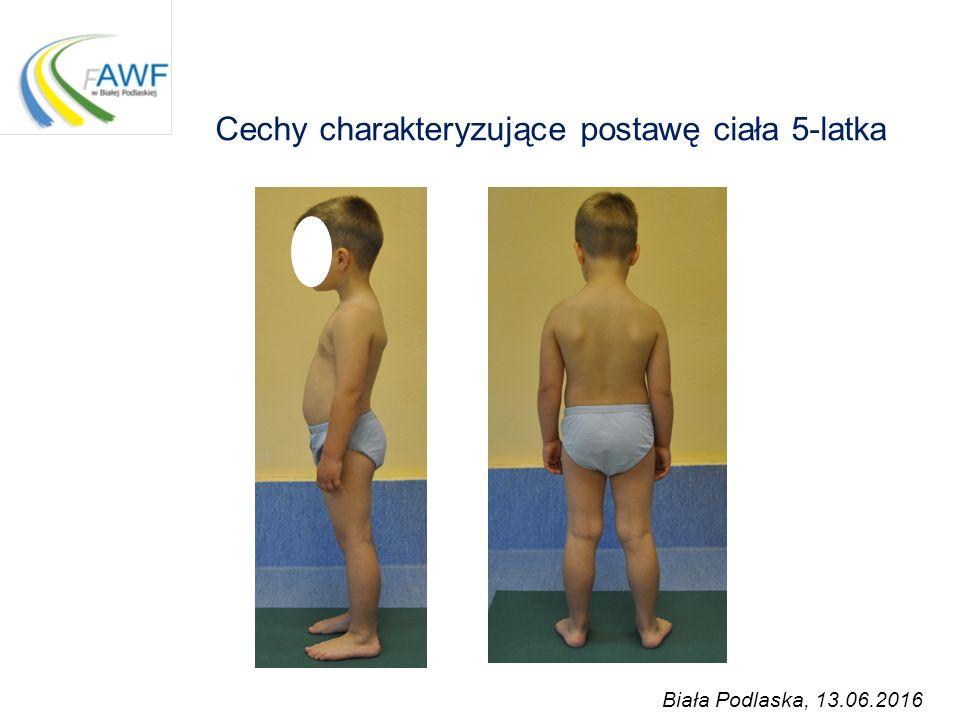 Cechy charakteryzujące postawę ciała 5-latka