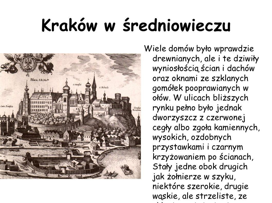 Kraków w średniowieczu