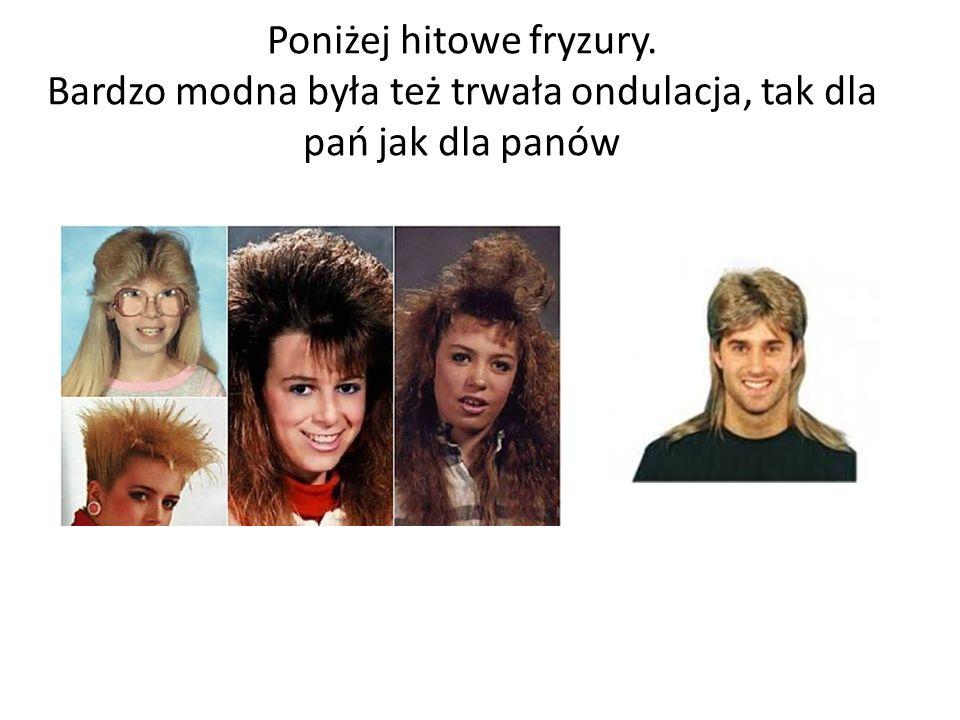 Poniżej hitowe fryzury