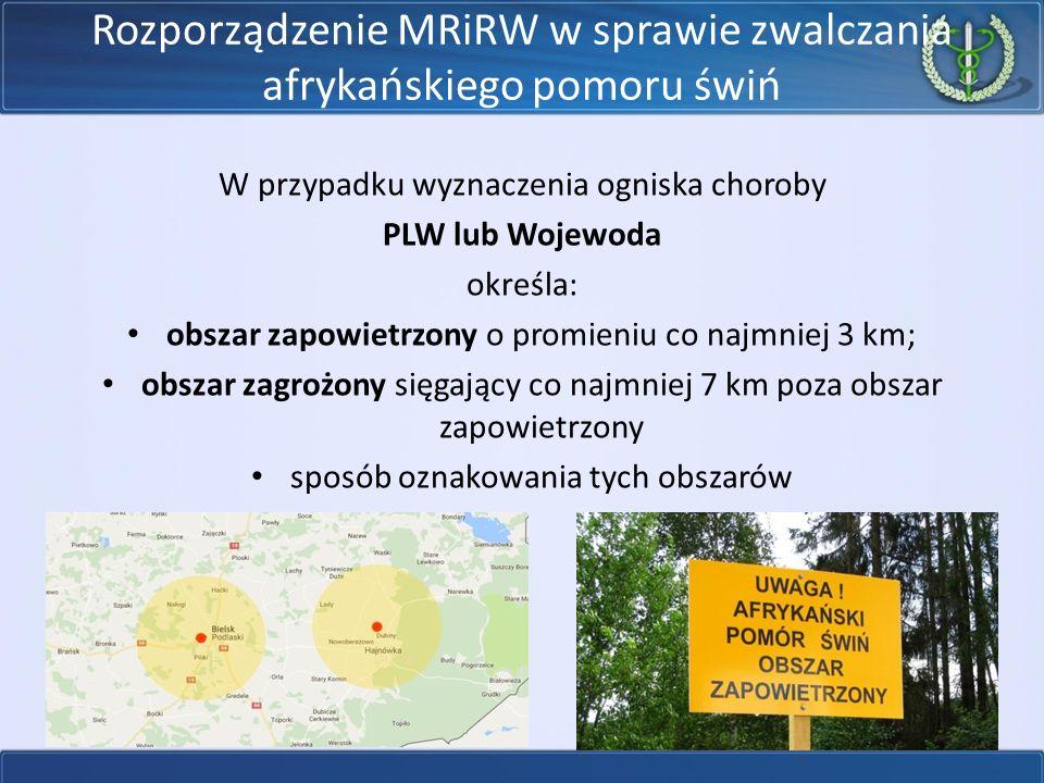Rozporządzenie MRiRW w sprawie zwalczania afrykańskiego pomoru świń