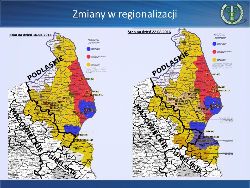 Zmiany w regionalizacji