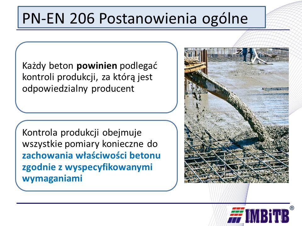 PN-EN 206 Postanowienia ogólne