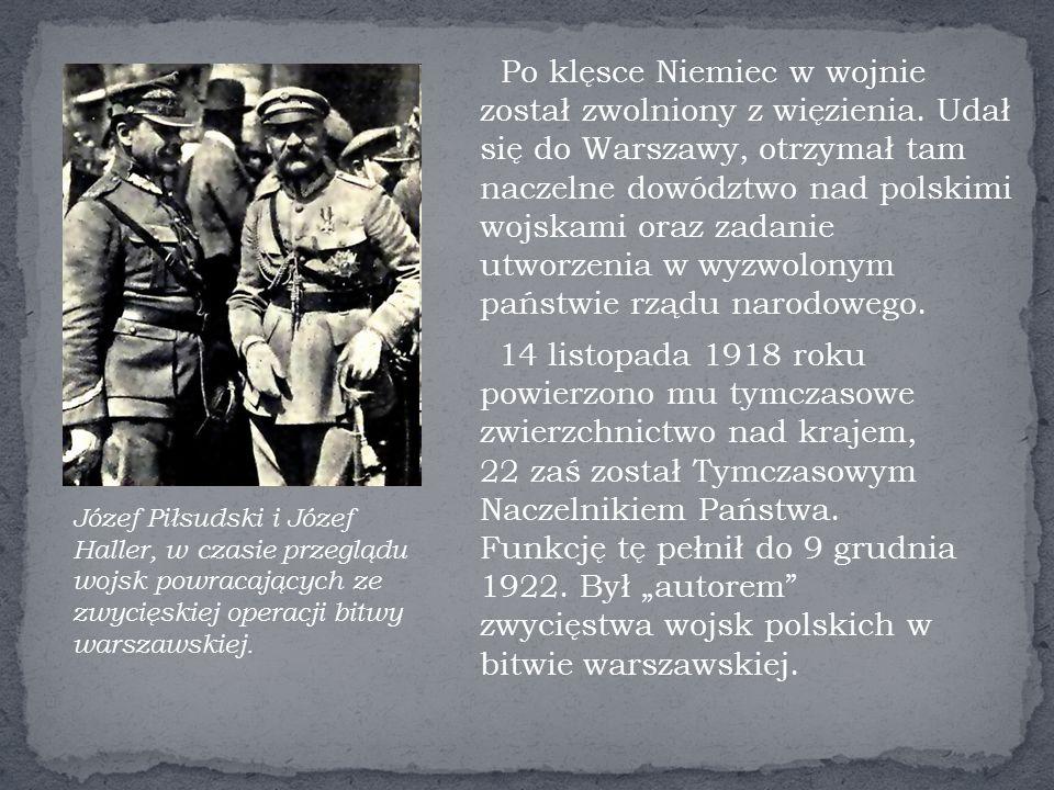 Po klęsce Niemiec w wojnie został zwolniony z więzienia