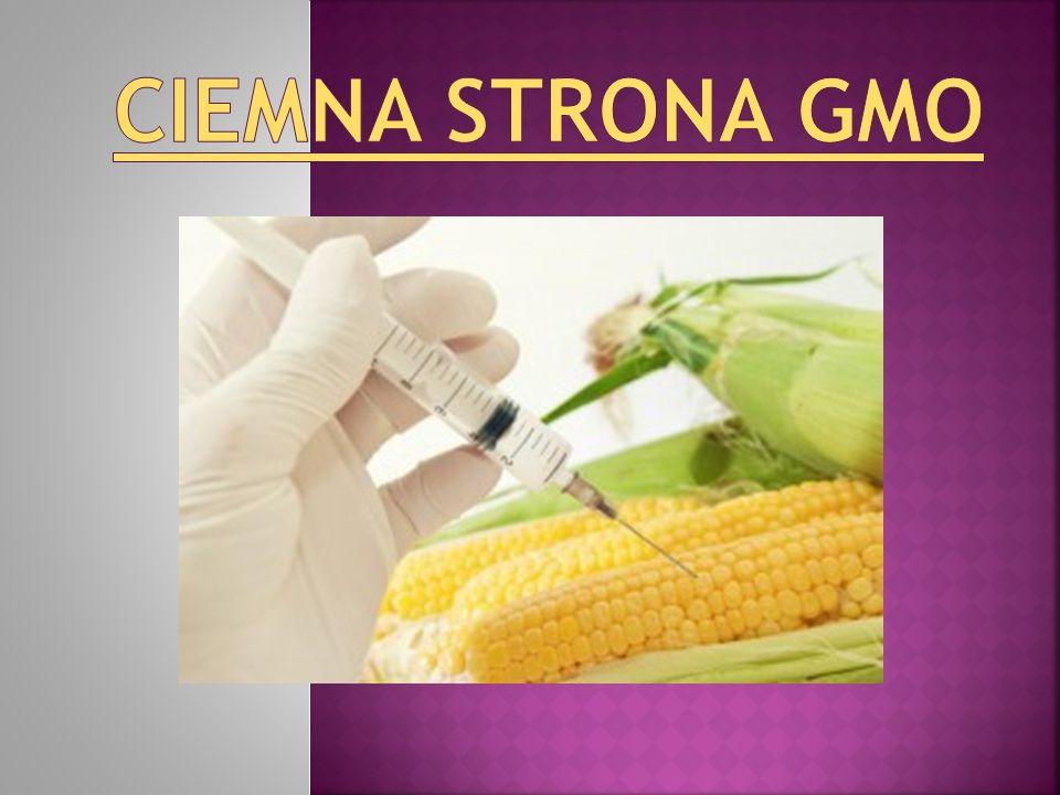 Ciemna strona GMO