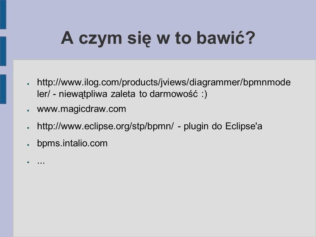 A czym się w to bawić http://www.ilog.com/products/jviews/diagrammer/bpmnmodeler/ - niewątpliwa zaleta to darmowość :)