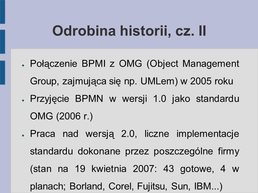Odrobina historii, cz. II
