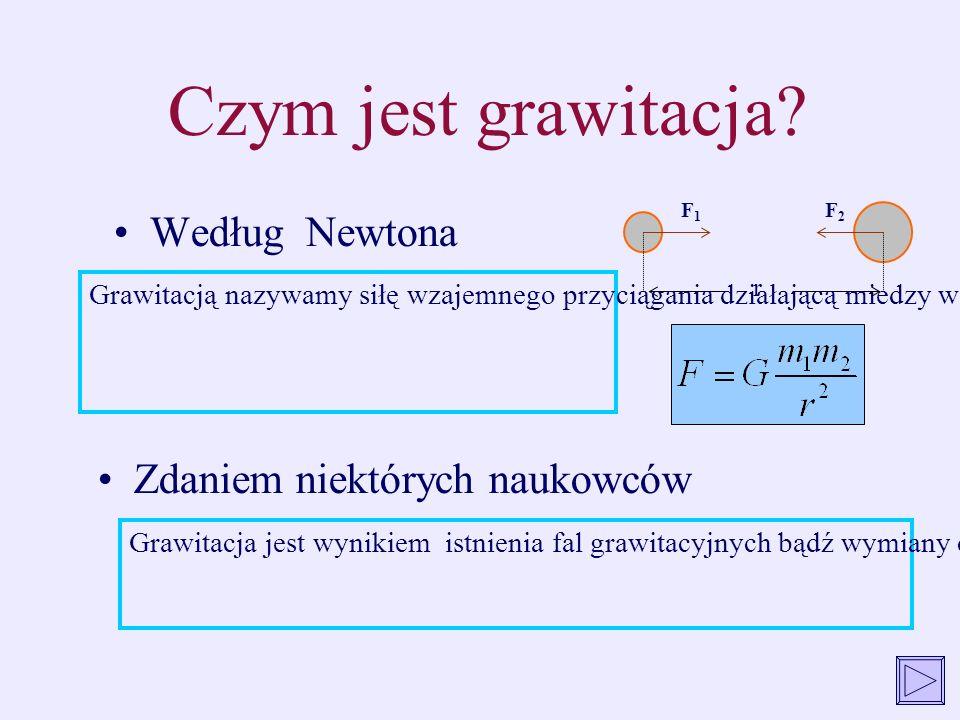 Czym jest grawitacja Według Newtona Zdaniem niektórych naukowców