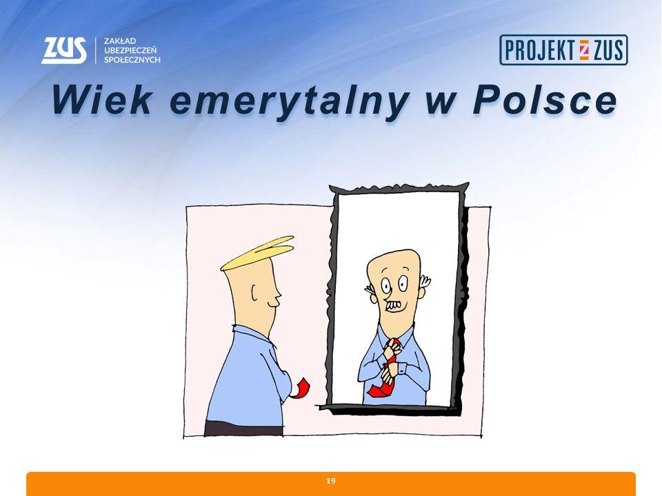 Wiek emerytalny w Polsce