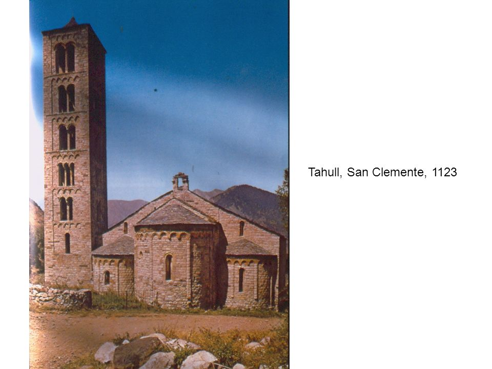 Tahull, San Clemente, 1123