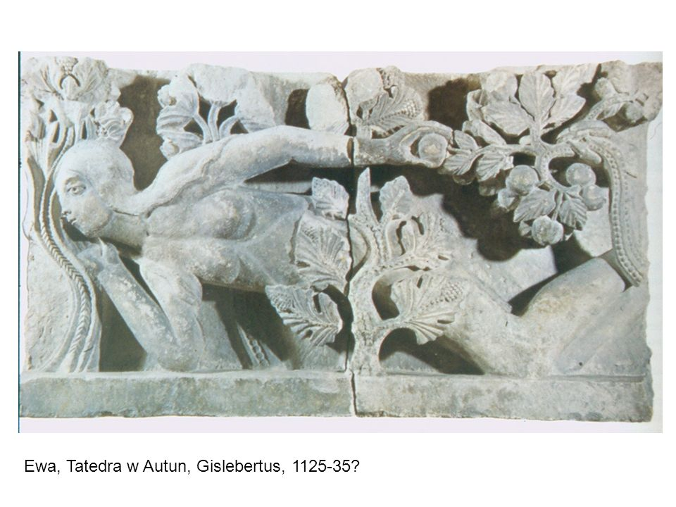 Ewa, Tatedra w Autun, Gislebertus, 1125-35