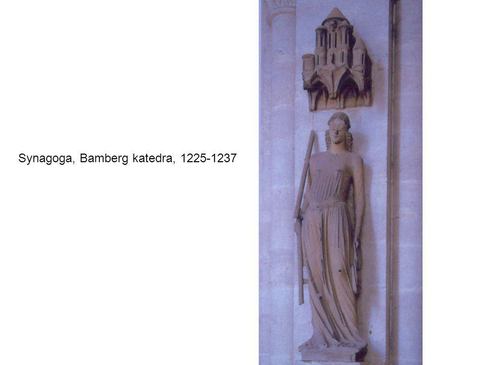 Synagoga, Bamberg katedra, 1225-1237