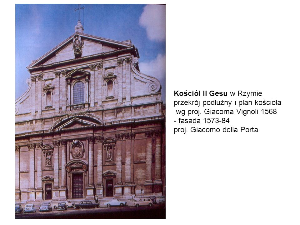 Kościól Il Gesu w Rzymie