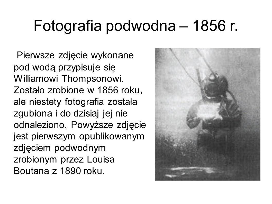 Fotografia podwodna – 1856 r.