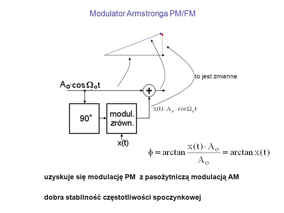 Modulator Armstronga PM/FM