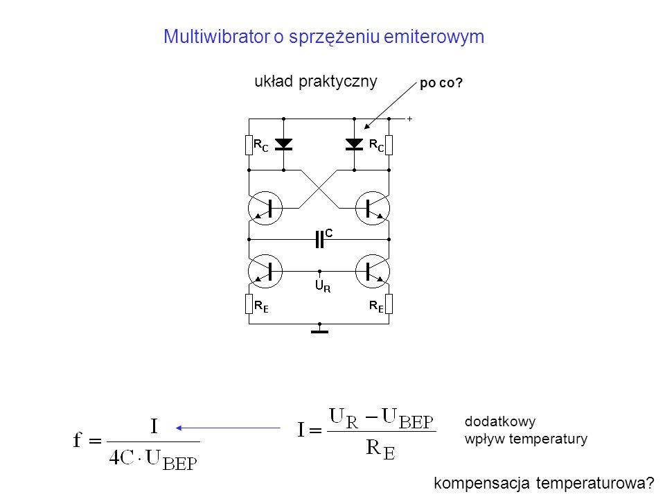 Multiwibrator o sprzężeniu emiterowym