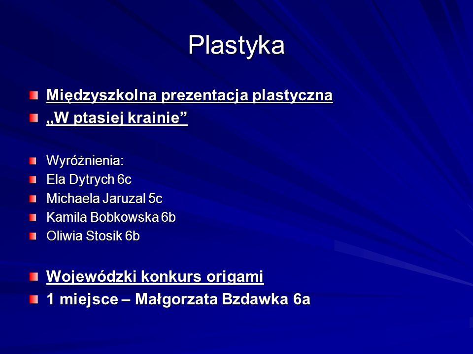 """Plastyka Międzyszkolna prezentacja plastyczna """"W ptasiej krainie"""