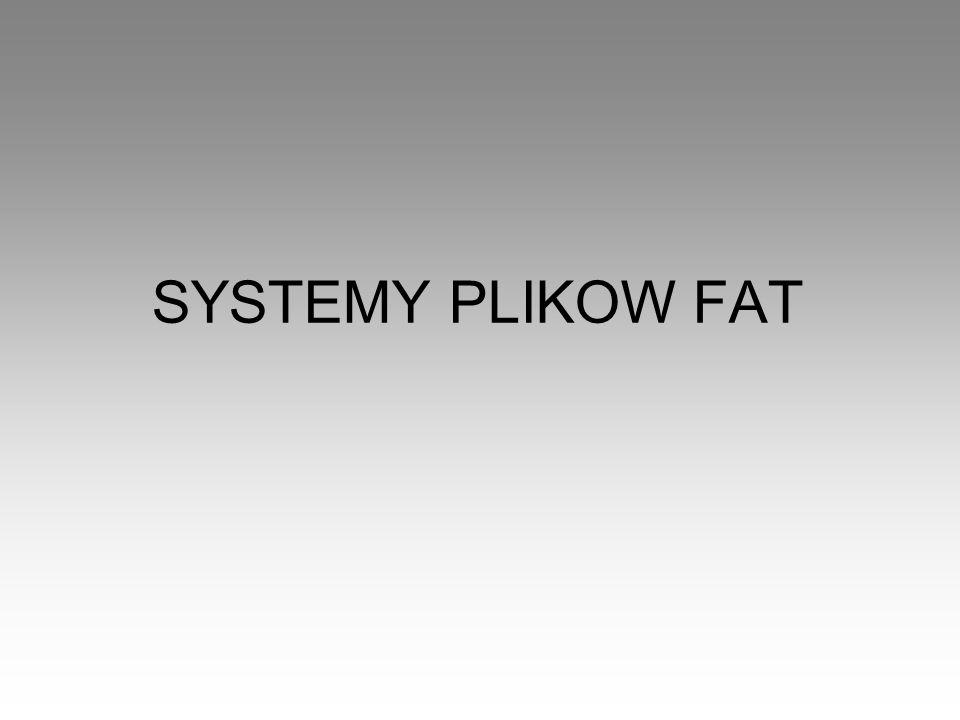 SYSTEMY PLIKOW FAT