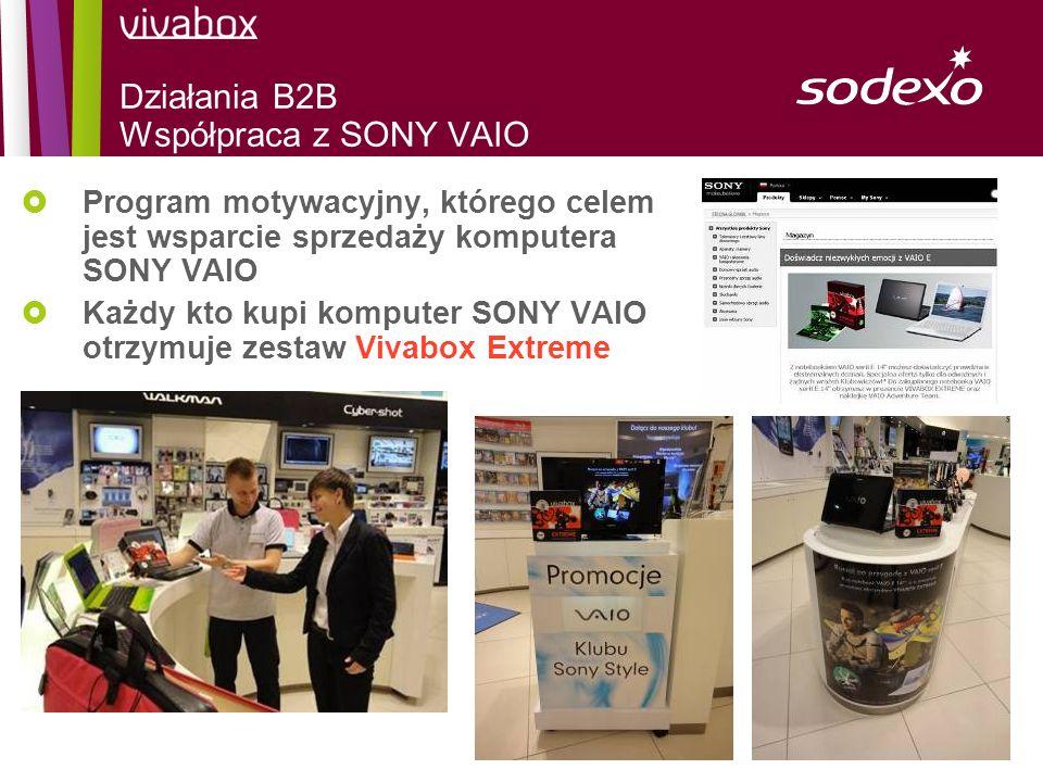 Działania B2B Współpraca z SONY VAIO