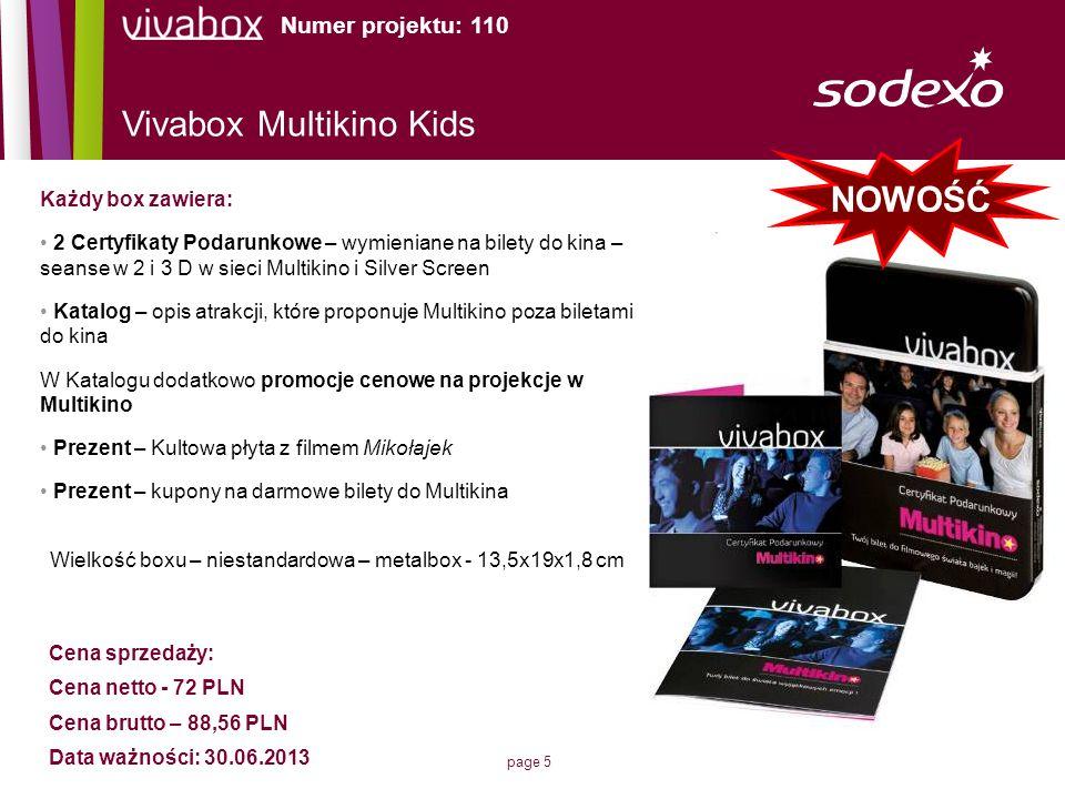 Vivabox Multikino Kids NOWOŚĆ